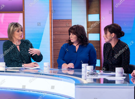 Stock Image of Ruth Langsford, Coleen Nolan, Pearl Lowe