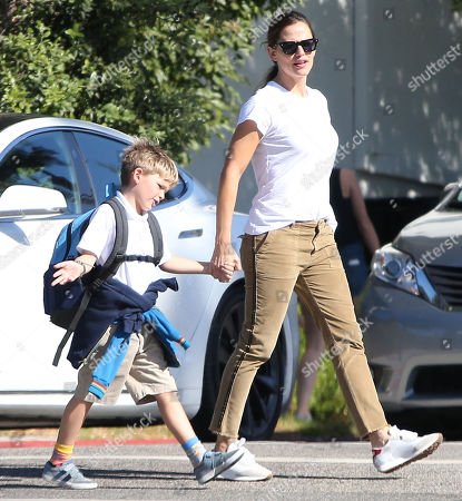Jennifer Garner and Samuel Affleck