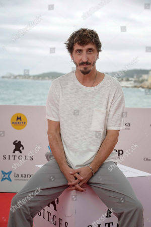 Ivan Massague poses for the media during the presentation of the movie 'El Hoyo' (The Platform) at the 52nd Sitges International Fantastic Film Festival of Catalonia, in Sitges near Barcelona, Spain, 08 October 2019. The film festival runs from 03 to 13 October.