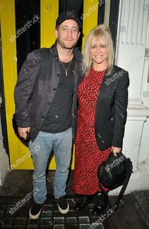 Stock Photo of Jo Wood and Tyrone Wood