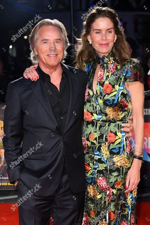 Stock Photo of Don Johnson and Kelley Phleger