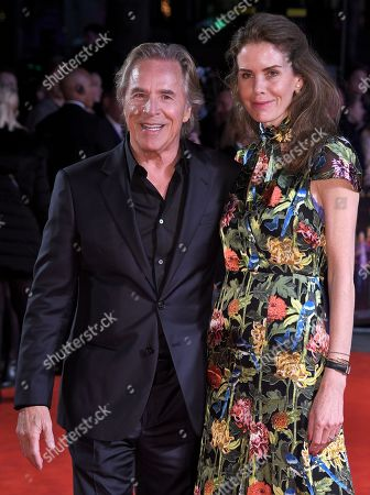 Stock Picture of Don Johnson and Kelley Phleger