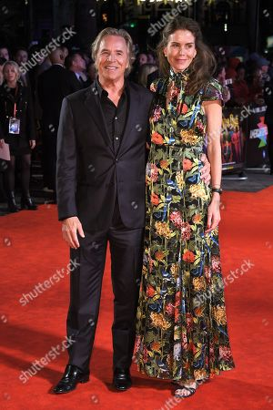 Don Johnson and Kelley Phleger