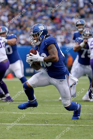 New York Giants tight end Evan Engram (88) in action against the Minnesota Vikings during an NFL football game on in East Rutherford, N.J. The Vikings defeated the Giants 28-10