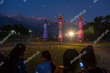 Editorial image of Hindu Festival, Dharmsala, India - 08 Oct 2019