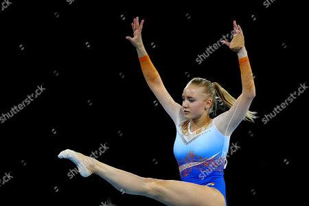 Editorial photo of Gymnastics World Championships, Stuttgart, Germany - 08 Oct 2019