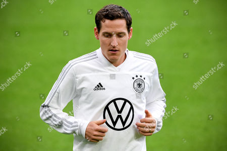 Germany?s Sebastian Rudy attends a training session in Dortmund, Germany, 08 October 2019. Germany will face Argentina in an international friendly soccer match on 09 October 2019
