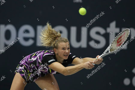 Stock Photo of Katerina Siniakova of Czech Republic in action
