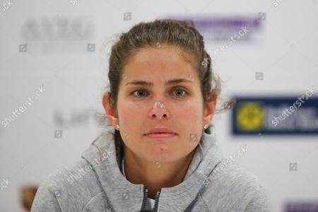 Julia Goerges (GER), Pressekonferenz
