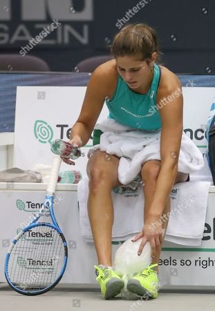 Julia Goerges of Germany during her match