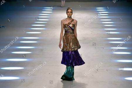 Editorial image of Designers and Brands fashion show in Beirut, Lebanon - 08 Oct 2019