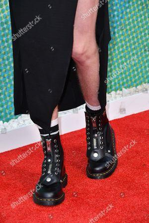 Charlie Barker, shoe detail
