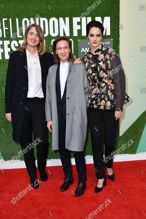 Adele Haenel, Celine Sciamma and Noemie Merlant