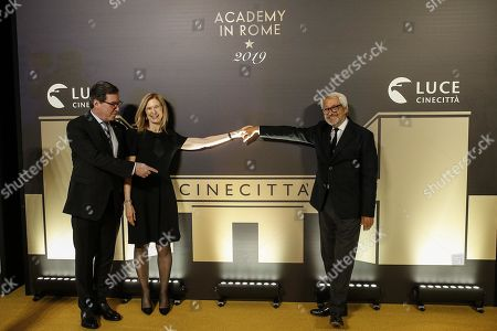 Editorial photo of Event of the Academy of Motion Pictures in Rome, Italy - 08 Oct 2019