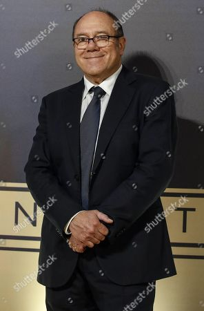 Carlo Verdone poses on the red carpet at the first Italian event of the 'Academy of Motion Pictures, Arts and Sciences' at Barberini Palace in Rome, Italy, 08 October 2019.