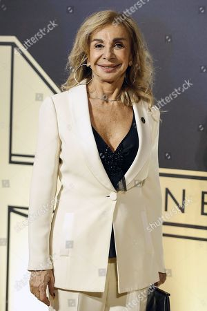 Stock Picture of Francesca Lo Schiavo poses on the red carpet at the first Italian event of the 'Academy of Motion Pictures, Arts and Sciences' at Barberini Palace in Rome, Italy, 08 October 2019.