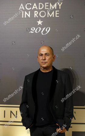 Ferzan Ozpetek poses on the red carpet at the first Italian event of the 'Academy of Motion Pictures, Arts and Sciences' at Barberini Palace in Rome, Italy, 08 October 2019.