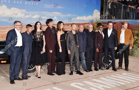 Editorial image of 'El Camino: A Breaking Bad Movie' film premiere, Arrivals, Regency Village Theatre, Los Angeles, USA - 07 Oct 2019