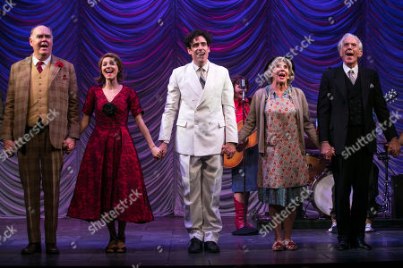 Editorial photo of 'The Man in the White Suit' curtain, Press Night, London, UK - 08 Oct 2019