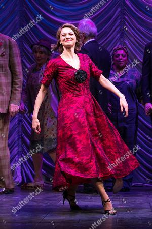 Kara Tointon (Daphne Binley) during the curtain call