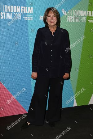 Stock Photo of Penelope Wilton poses for photographers, on arrival at the Premiere of the film 'Eternal Beauty' which is screened as part of the London Film Festival in central London on