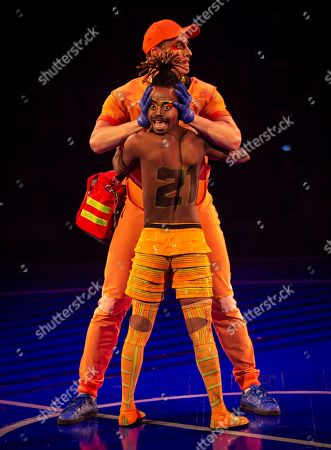 Editorial picture of Messi10 show by Cirque du Soleil, Barcelona, Spain - 08 Oct 2019