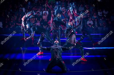 Editorial image of Messi10 show by Cirque du Soleil, Barcelona, Spain - 08 Oct 2019