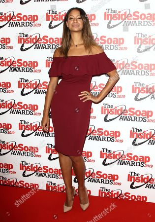 Editorial picture of Inside Soap Awards, London, UK - 07 Oct 2019