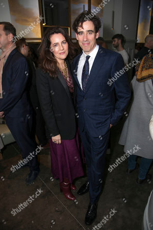 Louise Delamere and Stephen Mangan (Sidney Stratton)