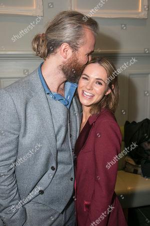 Marius Jensen and Kara Tointon (Daphne Binley)