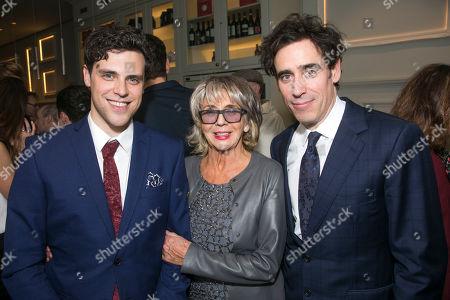 Charlie Fink (Music/Lyrics), Sue Johnston (Mrs Watson) and Stephen Mangan (Sidney Stratton)