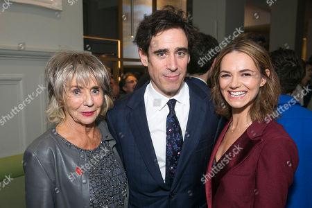 Sue Johnston (Mrs Watson), Stephen Mangan (Sidney Stratton) and Kara Tointon (Daphne Binley)