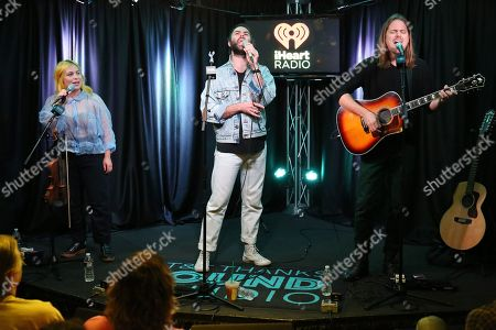 Editorial image of The Head and the Heart visits Radio 104.5, Bala Cynwyd, Philadelphia, USA  - 08 Oct 2019
