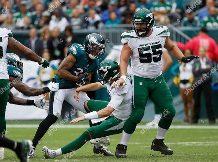 Philadelphia Eagles' Orlando Scandrick in action during an NFL football game against the New York Jets, in Philadelphia