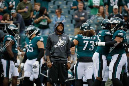 Philadelphia Eagles' DeSean Jackson is seen during an NFL football game against the New York Jets, in Philadelphia