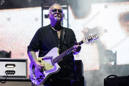 The Cure - Reeves Gabrels during weekend one, day two of Austin City Limits Music Festival at Zilker Park