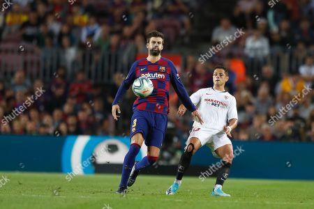 Editorial picture of Barcelona v Sevilla, Spanish La Liga football match, Barcelona, Spain - 06 Oct 2019