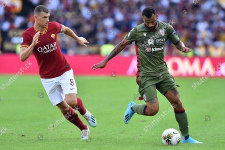 Editorial photo of Roma v Cagliari, Serie A, Football, Stadio Olimpico, Rome, Italy - 07 Oct 2019