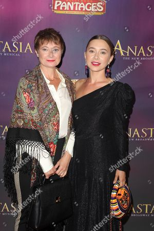 Stock Image of Olesya Rulin with her mother