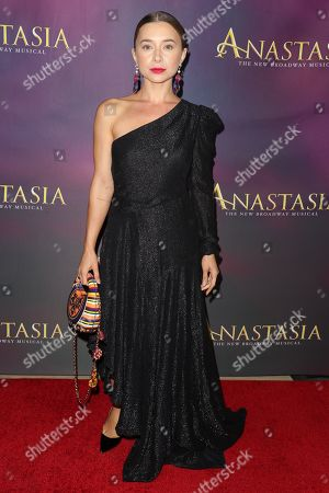 Editorial photo of 'Anastasia' musical, Arrivals, Hollywood Pantages Theatre, Los Angeles, USA - 08 Oct 2019