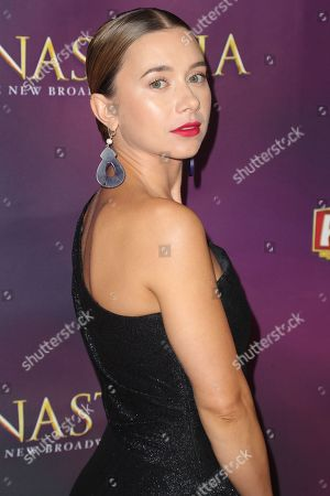 Editorial picture of 'Anastasia' musical, Arrivals, Hollywood Pantages Theatre, Los Angeles, USA - 08 Oct 2019