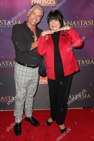Editorial image of 'Anastasia' musical, Arrivals, Hollywood Pantages Theatre, Los Angeles, USA - 08 Oct 2019