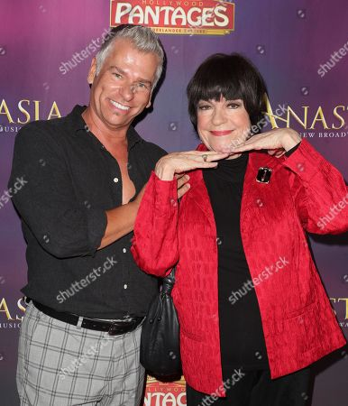 Stock Photo of Todd Sherry and Jo Anne Worley