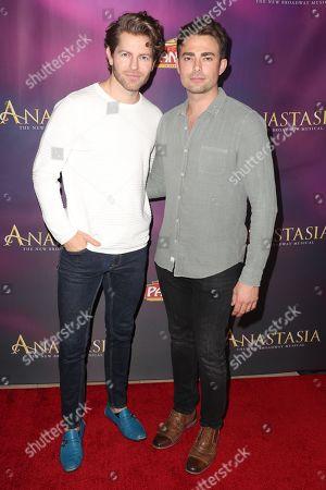 Jaymes Vaughan and Jonathan Bennett