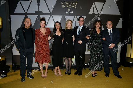 Editorial photo of AMPAS Golden Carpet Event, Rome, Italy - 08 Oct 2019