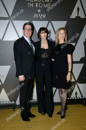 Editorial image of AMPAS Golden Carpet Event, Rome, Italy - 08 Oct 2019