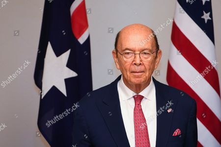 Stock Picture of US Secretary of Commerce Wilbur Ross looks on during a meeting with Australian Resource Minister Matt Canavan (not pictured) held to discuss the Australia-US Partnership on Critical Minerals at Parliament House in Canberra, Australia, 09 October 2019.