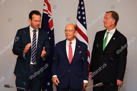 Editorial photo of US Secretary of Commerce Wilbur Ross visits Australia, Canberra - 09 Oct 2019