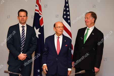 Editorial picture of US Secretary of Commerce Wilbur Ross visits Australia, Canberra - 09 Oct 2019