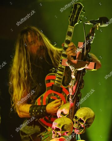 Editorial image of Black Label Society in concert at Revolution Live, Fort Lauderdale, USA - 08 Oct 2019